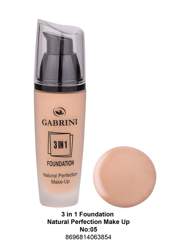 3 In 1 Foundation (Natural Perfection Makeup) # 05